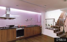 复式楼大厨房装修效果图