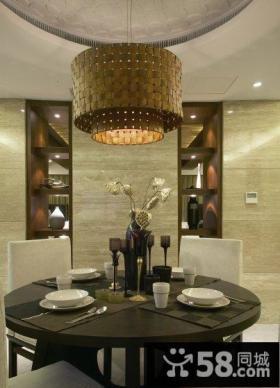 新中式餐厅设计装潢