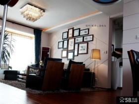 客厅吊顶装修实景图