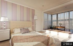 美式风格简约卧室设计效果图欣赏