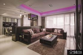现代风格三室一厅装修效果图欣赏