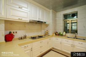 欧式小户型厨房装修效果图大全2013图片