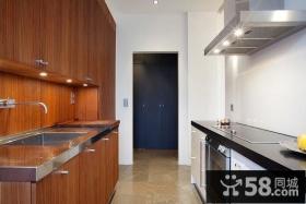 90平小户型婚房现代厨房装修效果图大全2012图片