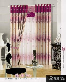 客厅阳台窗帘装修效果图欣赏