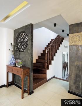 简中式楼梯间设计图