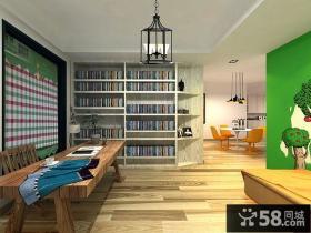 现代设计室内餐厅装修效果图