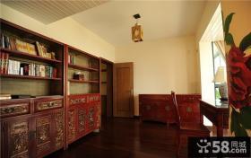 古典红木中式书房装饰设计