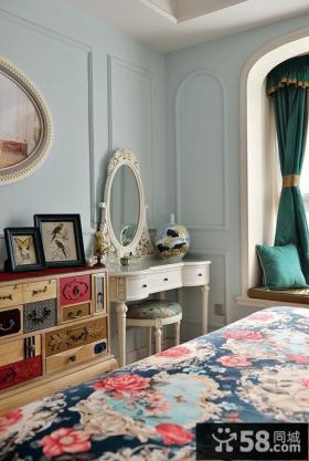 欧式风格卧室家具效果图片2014