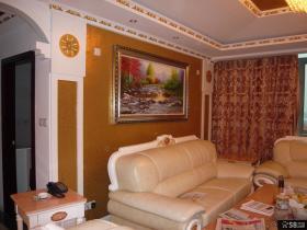简约欧式风格客厅沙发墙挂画图片欣赏