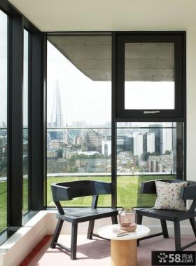 日式三居风格封阳台装修设计