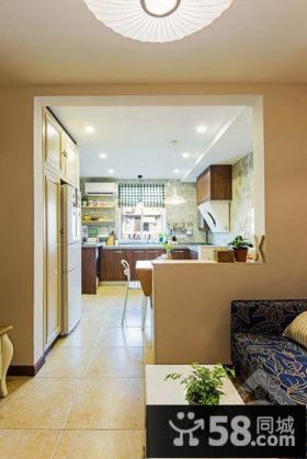 家居厨房隔断设计图片