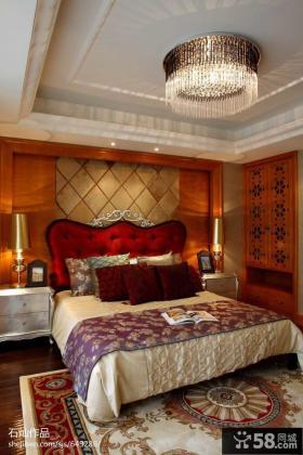欧式别墅卧室吊顶装饰