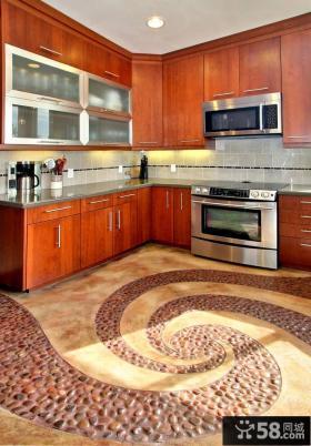 现代厨房整体橱柜设计