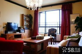 小户型客厅装修效果图大全2012图片美式风格