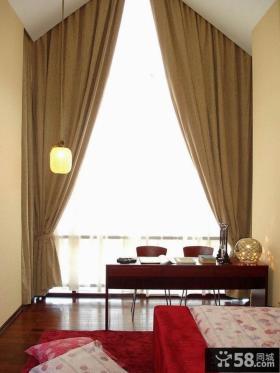 别墅室内中式吊灯效果图