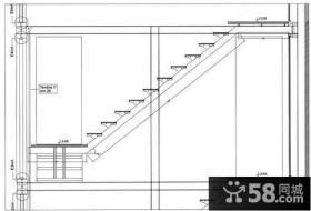 别墅楼梯设计图纸及效果图大全