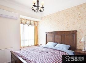 欧式田园风格小户型卧室设计装修图片