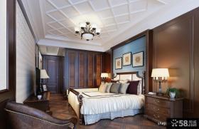 欧式主卧室装修设计效果图片