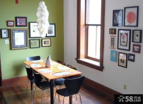 日式小餐厅相片墙图片欣赏大全