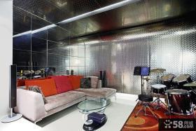 现代家庭娱乐室装修效果图