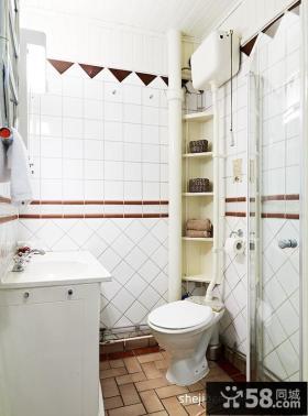 35平米小户型装修图 小卫生间装修效果图