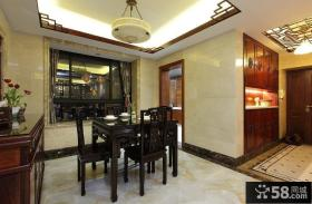 古典雅致中式餐厅设计