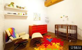 整体婴儿房间布置效果图片