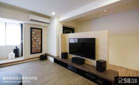 简约风格电视墙装修效果图大全