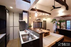 日式现代家装厨房设计