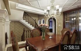 古典欧式餐厅设计装饰