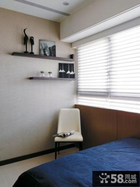 现代新古典卧室窗帘效果图