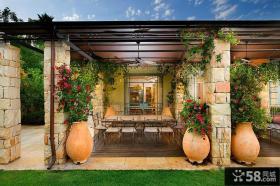 阳台花园装修设计效果图