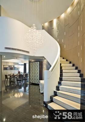 2013复式楼梯装修效果图欣赏