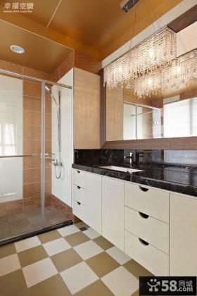 美式风格房屋装修样板房