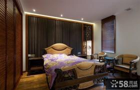 儒雅古典中式卧室设计