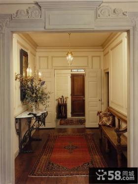 进门玄关地毯装饰图