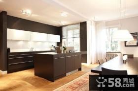 23万打造欧式元素的后现代装修风格整体橱柜效果图