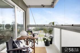 现代小阳台家居装修设计