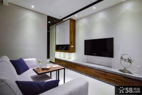 现代室内电视背景墙设计效果图片