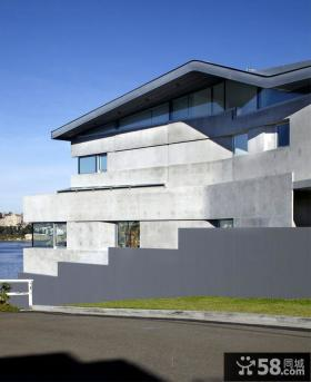 现代家装别墅房屋外观设计效果图