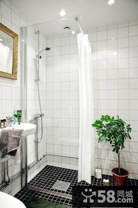 北欧小户型浴室装修图片