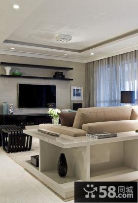 装修客厅电视背景墙图欣赏