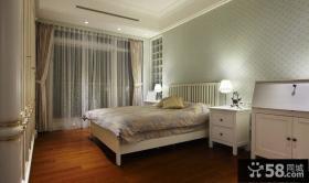 简欧风格三居卧室装饰设计图片