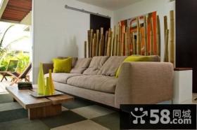 小复式细腻温暖的客厅装修效果图大全2014图片