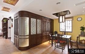 古典中式风格餐厅装修效果图欣赏