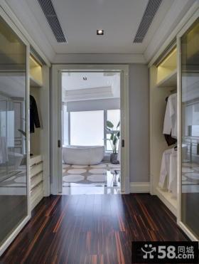 新古典美式风格衣柜效果图大全