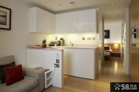 单身公寓小厨房设计图片
