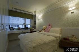 简欧风格温馨卧室设计图