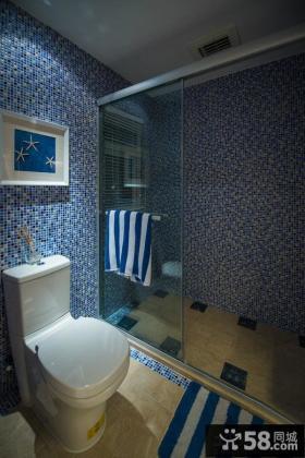 地中海家居马赛克瓷砖卫生间装修
