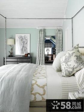 美式田园家居卧室图片